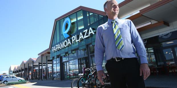Papamoa Plaza centre manager David Hill. Photo/John Borren