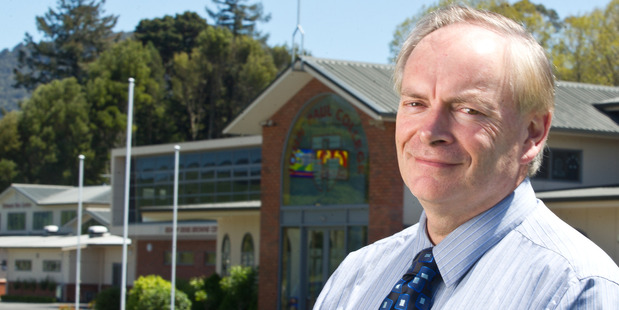 John Paul College principal Patrick Walsh. Photo/File