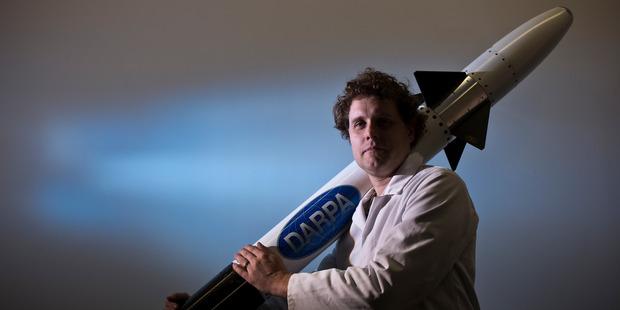 Rocket scientist Peter Beck.