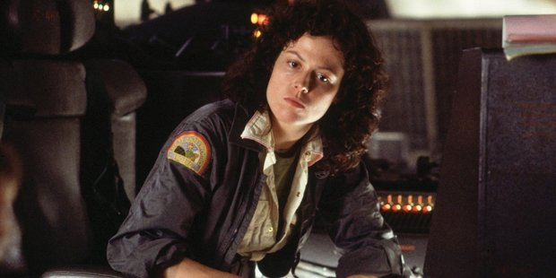"The 1979 movie  Alien  (with Sigourney Weaver) was famously advertised with the tagline ""in space no one can hear you scream"". Photo / Supplied"