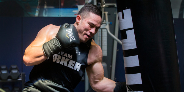 Loading New Zealand Heavyweight Joseph Parker. Photo / Nick Reed.