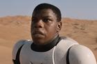 Actor John Boyega stars as Finn in Star Wars: The Force Awakens.