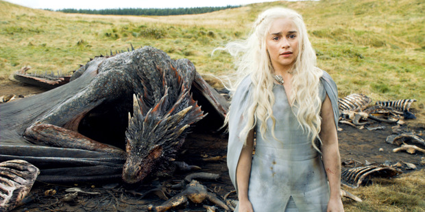 A scene from season five of Game of Thrones, season 6 is set to air in April.