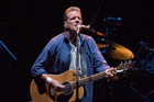 Glenn Frey of The Eagles in concert at Mt Smart Stadium in Auckland. Photo / Steven McNicholl