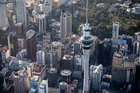 The Sky Tower was built a year after SkyCity began operation and listed on the New Zealand stock exchange in February 1996. Photo / Dean Purcell