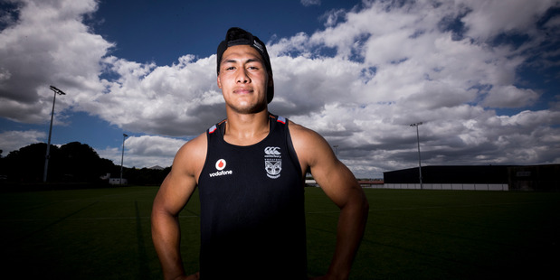 Warriors player Roger Tuivasa-Sheck during training at Mt Smart Stadium. 19 January 2016 New Zealand Herald Photograph by Dean Purcell.