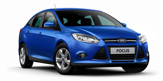 A later make of the Ford Focus Trend the couple bought in 2012.