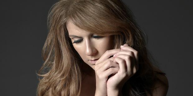 Singer Celine Dion.