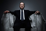 Kevin Spacey stars in the TV show House of Cards.