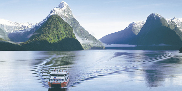 New Zealand's beautiful scenery, as seen in this photo of the Milford Sounds, draws hordes of tourists to our shores. Photo / Supplied