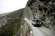 Skippers Canyon Road was ranked in the top three most dangerous in the world. Photo / Dean Purcell