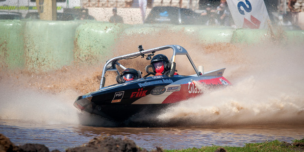 Spectacular action is guaranteed at the final round of the ENZED 2016 UIM Jet Spring World Championship at ABS Baypark next Saturday. Photo/file
