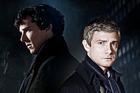 Benedict Cumberbatch and Martin Freeman in Sherlock Holmes.