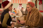 Rooney Mara (left) and Kate Blanchett star in Carol, a lesbian love story set in the 50s.