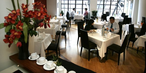 Zest restaurant in the City Life Hotel, Auckland. Photo / Janna Dixon