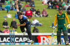 Black Caps bowler Mitchell McClenaghan. File photo / Alan Gibson