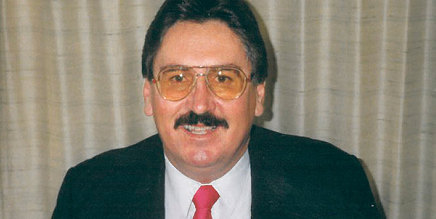 Former Napier city councillor Peter Beckett, pictured in 1998.