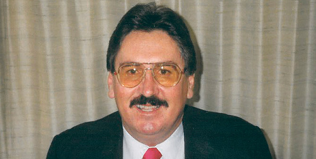 Peter Beckett. a former Napier councillor, who is on trial for killing his wife in Canada.