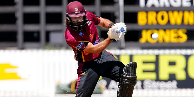 Mount Maunganui's Dean Brownlie will be one of several Western Bay players in action for the Northern Knights at Bay Oval today.
