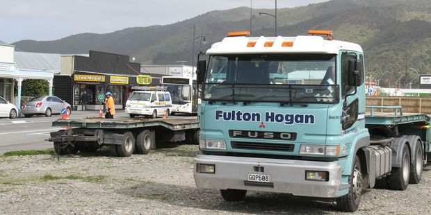 Work on Featherston's town square has been held off until NZTA carries out roadworks. PHOTO/FILE