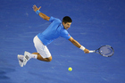 Novak Djokovic is hot favourite to win the Australian Open, which starts tomorrow. Photo / Getty Images