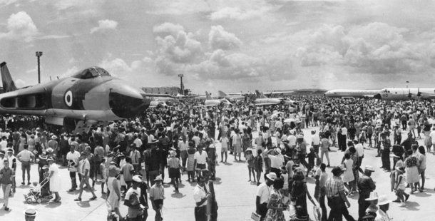 1966: Thousands flock to the air pageant marking the opening of Auckland International Airport on January 29.