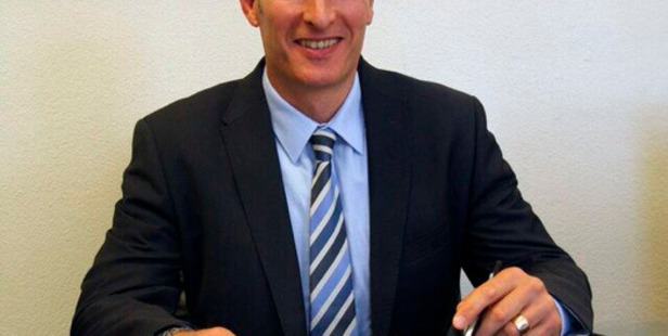 The new Napier Boys High School principal, Matthew Bertram, says he is excited to be moving to Hawke's Bay. Photo/Supplied.