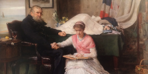 The North-West Passage by Sir John Millais.