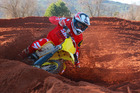 Tauranga's Ben Townley in action at the Red Sand MX Park near Valencia aboard his new Suzuki.