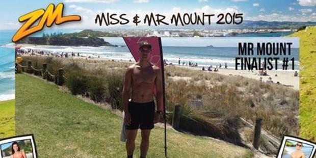 Mr Mount winner Liam Whareaitu.