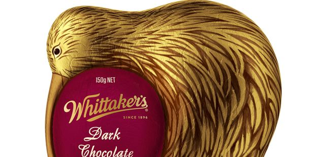 Whittaker's has made its first Easter product, a chocolate kiwi. PHOTO/SUPPLIED