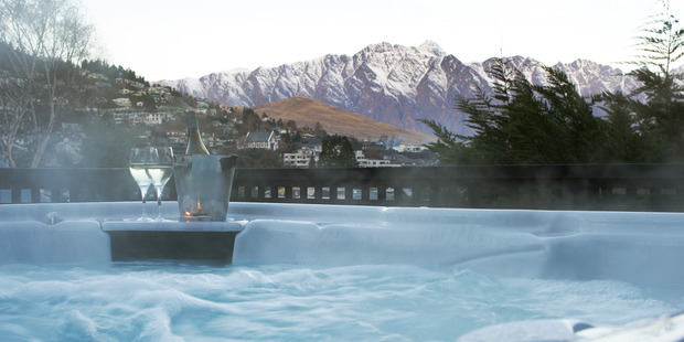 The spa at The Dairy Hotel in Queenstown. Photo / Supplied