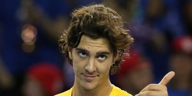 Australian young gun Thanasi Kokkinakis has revealed he has been approached to fix tennis matches.   Photo / Getty Images.