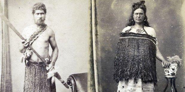 UNKNOWN: Masterton photographer Thomas Edward Price's image of a possible Masterton tipuna or ancestor.