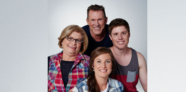 The Wotton team is, clockwise from left, Theresa Tingey, Henry Wotton, Josh Tingey and Rebecca Wotton. Photo / Supplied