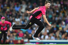 Jackson Bird in action for the Sydney Sixers. Photo / Getty