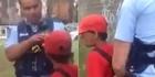 Watch: Mum films boy abusing cops