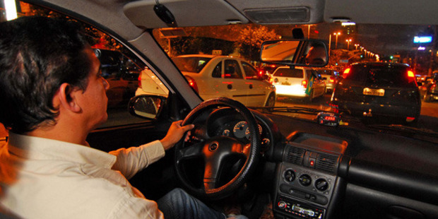 Sao Paulo taxi drivers have been banned from wearing shorts or trying to banter with passengers about football. Photo / Getty Images