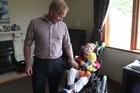 William Burton was left a quadriplegic and severely brain-damaged from diagnosed meningitis.