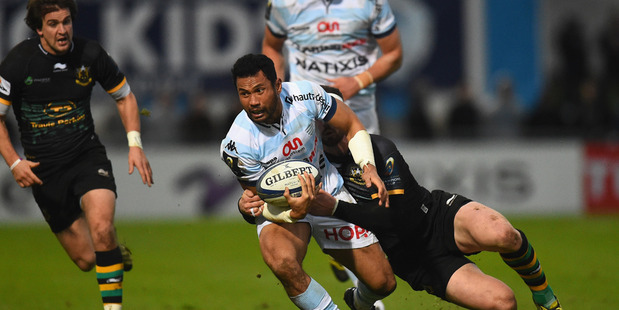 Casey Laulala scored a hat-trick for Racing 92. Photo / Getty