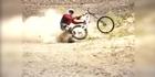 Crash of the day: Desert bike crashes