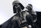 The Sith lord has a reputation for choking his enemies. Photo / Supplied