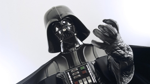 Of course this Darth Vader onesie presents a choking hazard