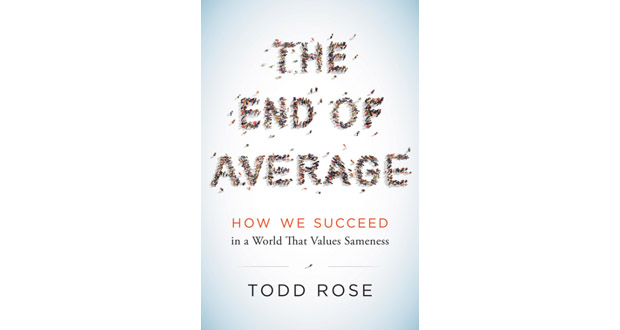 The End of Average will be available from January 26. Photo / Harper Collins