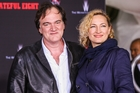 BIG NIGHT OUT: Quentin Tarantino and Zoe Bell were on the red carpet. PHOTO/NZME