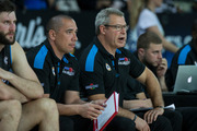 Breakers assistant coach Paul Henare, left, will replace head coach Dean Vickerman. Photo / Jason Oxenham