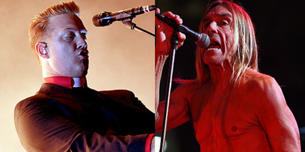 Josh Homme from Queens of the Stone Age and The Stooges frontman Iggy Pop have written and recorded an album in secret. Photo / Getty Images