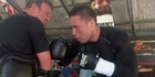 Watch: Joseph Parker showcases his new liver punch