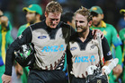 Martin Guptill and Kane Williamson enjoyed an unbeaten first-wicket partnership of 171 runs. Photo / Getty