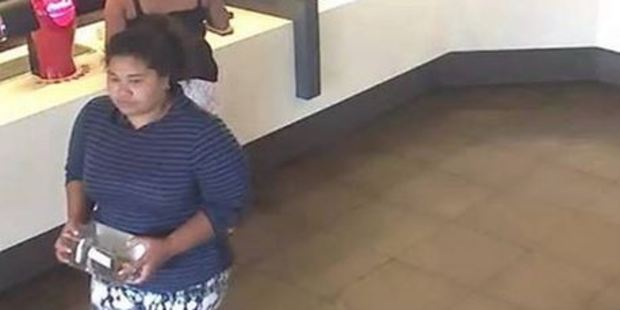 If you know this woman please contact Counties Manukau Police on 09 261 1300. Photo: Counties Manukau Police/Facebook